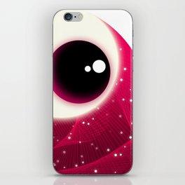 Red Dot Eye iPhone Skin
