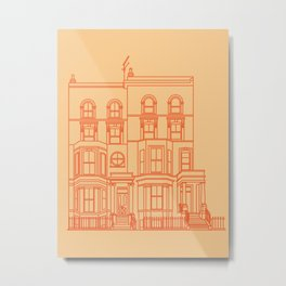 Town House Metal Print