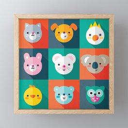 PET PARADE Framed Mini Art Print