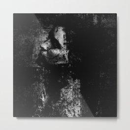 Falling in the darkness Metal Print
