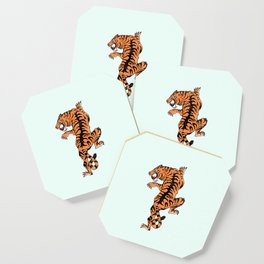 Tiger style Coaster