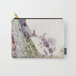 Squirrel Family Carry-All Pouch