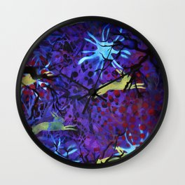 Dreamy nights Wall Clock