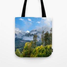 Mount Fisht Tote Bag