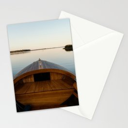 Summer Mornings On The Lake Stationery Cards