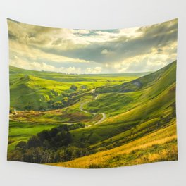 The Hope Valley, Peak District, Derbyshire Wall Tapestry