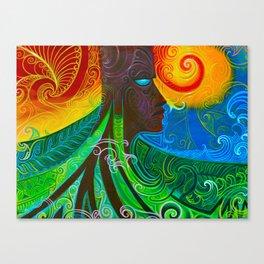 loghead Canvas Print