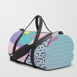 Memphis pattern 44 - 80s / 90s Retro Duffle Bag