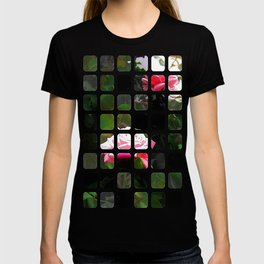 Pink Roses in Anzures 5  Art Rectangles 1 T-shirt