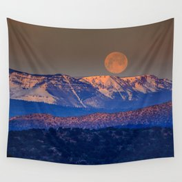 Mountain Moon Wall Tapestry