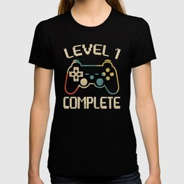 Level 1 Complete Gift Tee Celebrate 1st Wedding T-shirt
