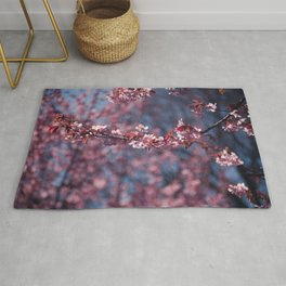 Cherry blossoms II Rug