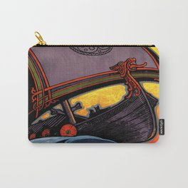 Scandinavia Land of the Vikings - Vintage Travel Carry-All Pouch