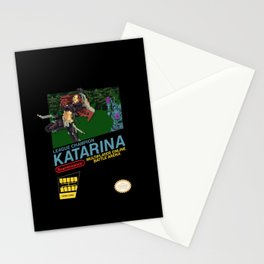 8-bit Champion: Katarina Stationery Cards
