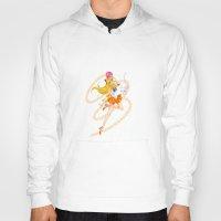 sailor venus Hoodies featuring Sailor Venus  by Moonsia