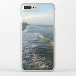 Virginia Beach Wide Angle Clear iPhone Case