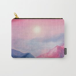 Pastel vibes watercolor 01 Carry-All Pouch