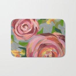 Platinum Rose Bath Mat