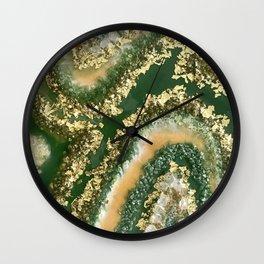 Geode Resin Art Wall Clock