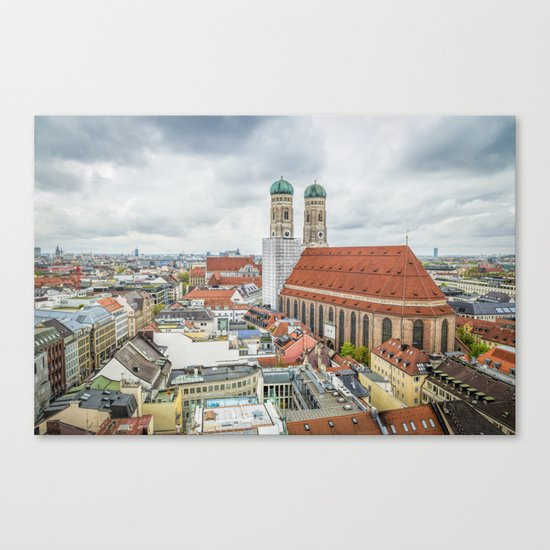The Cathedral of Munich Canvas Print