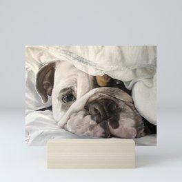 Not a Bully: Winston Mini Art Print