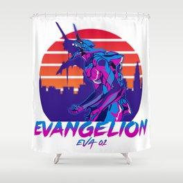 Eva 01 Shower Curtain