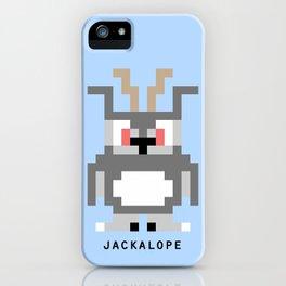 8 Bit Jackalope iPhone Case