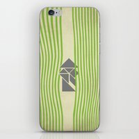 samurai iPhone & iPod Skins featuring SAMURAI by Ociaj