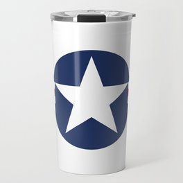 US Air-force plane roundel Travel Mug
