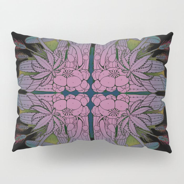 Entheogen Pillow Sham