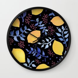 Sweet Senses Wall Clock