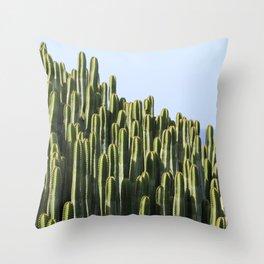 Cactus Plant Spur Throw Pillow