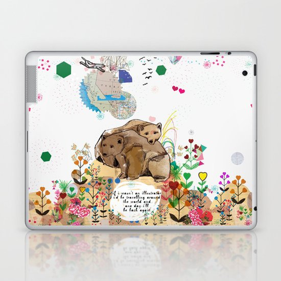 I Would Be Laptop & iPad Skin