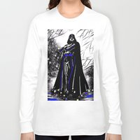 vader Long Sleeve T-shirts featuring Vader by Saundra Myles