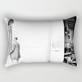Vulture: old shoemaker and old man Rectangular Pillow