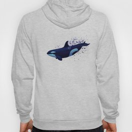 """Lost in Fantasy"" by Amber Marine ~ Orca / Killer Whale Art, (Copyright 2015) Hoody"
