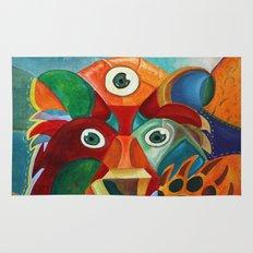 Three Eyed Bear Rug