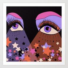Star Gaze Art Print
