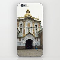 ukraine iPhone & iPod Skins featuring Kiev, Ukraine by Love Crosses Oceans Smith Family