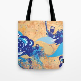 Minjas In Space Tote Bag