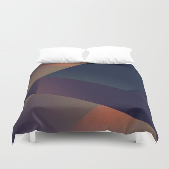 Abstract #114 Duvet Cover