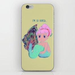 Chibi Mermaid #1 iPhone Skin
