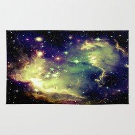 Nebula Galaxy (deep pastels) Rug