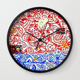 Holy Moly 05 Wall Clock