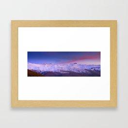 Sierra Nevada mountains. More than 3000 meters hight Framed Art Print