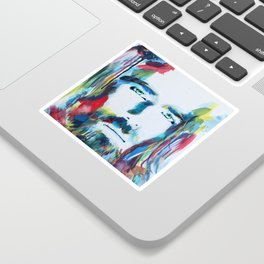 Colorful Creator Jesus Christ Painting Sticker