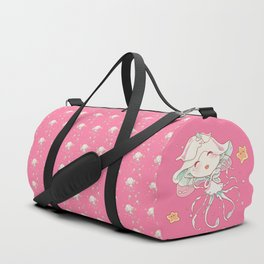 Cute Jellyfish Mermaid Duffle Bag