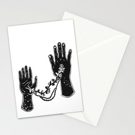 Joined Hands Stationery Cards