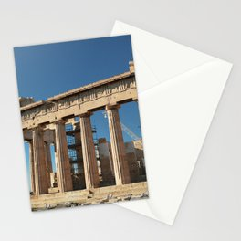 Parthenon, Acropolis of Athens, Greek photography, ancient Greece Stationery Cards