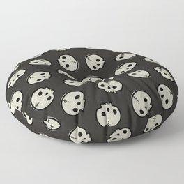 Skull Pattern (BLACK) Floor Pillow
